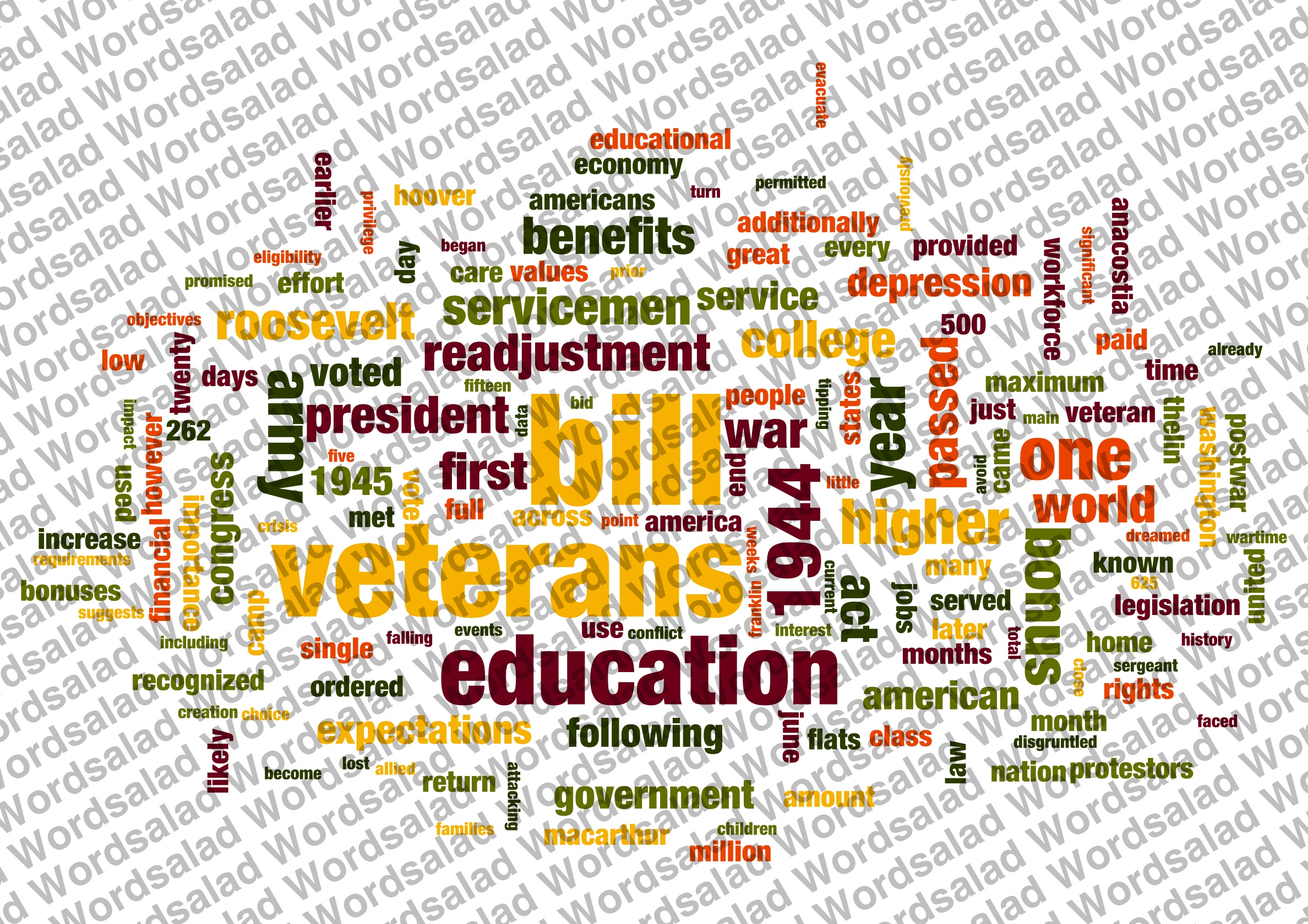 g i bill research paper 2011] the gi bill, higher education and american society 19 four years of college education the national bureau of economic research, found that the gi bill likely increased college completion rates for veterans by.